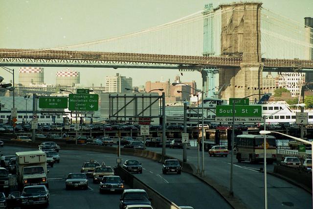 Brooklyn Bridge New York 1990 Flickr Photo Sharing