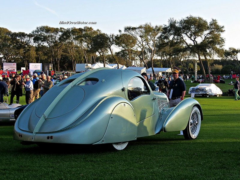 Bugatti Type 57 Aerolithe Coupe