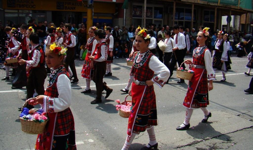 Festival de la Rosa desfile Kazanlak Bulgaria 55