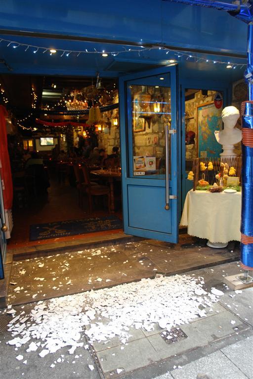 Pedir Agua Restaurante Paris