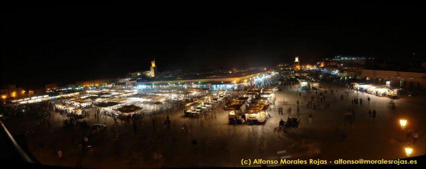 Panorámica de la plaza de Jamaa el-Fna (haz clic para ampliar) Jamaa el-Fna, el corazón de Marrakech Jamaa el-Fna, el corazón de Marrakech 3257857832 a8f41cf2e2 o