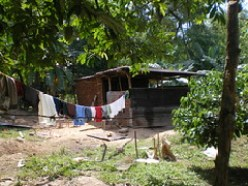 poor honduran home
