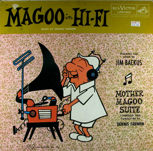 Mr. Magoo in Hi-Fi by Kevin Dooley on Flickr via CC License