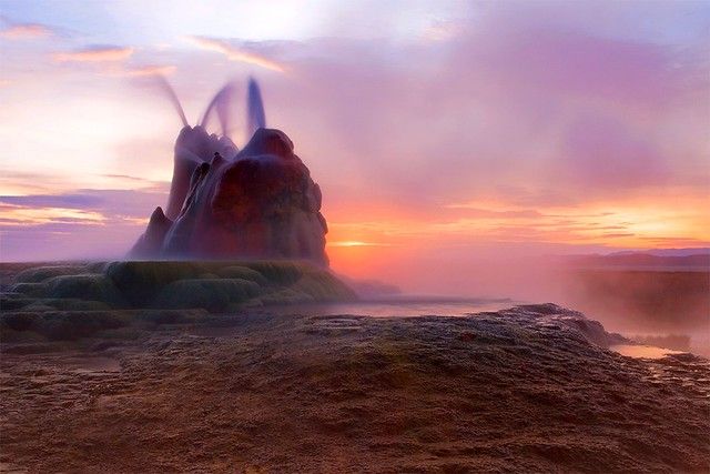 Fly Geyser - Black Rock Desert