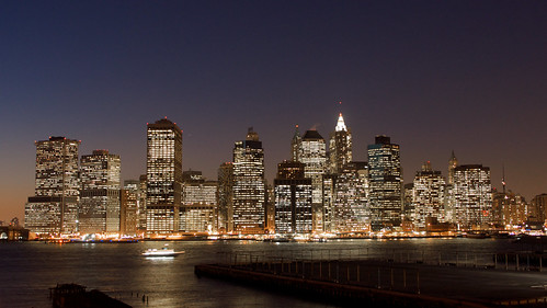 Downtown NYC by Dave J Johnson