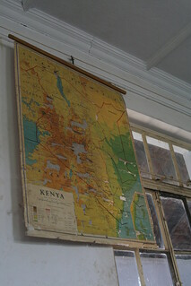 Kenya Map at Nairobi School