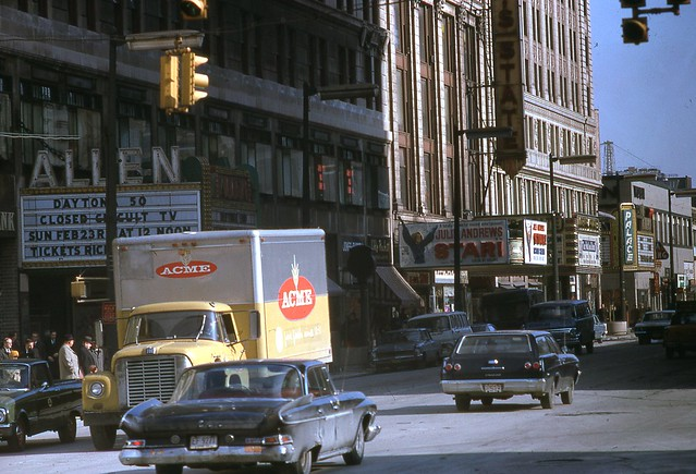 Playhouse Square Cleveland Ohio Jan 1969
