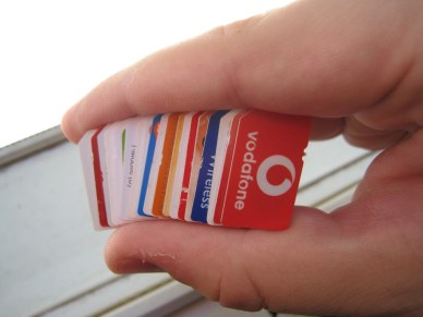 Some SIM cards