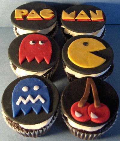Pacman Cupcakes  Flickr  Photo Sharing