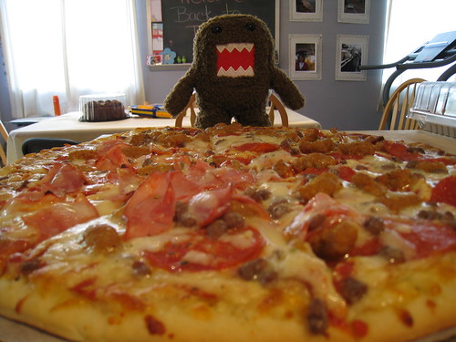 Domo Loves Pizza
