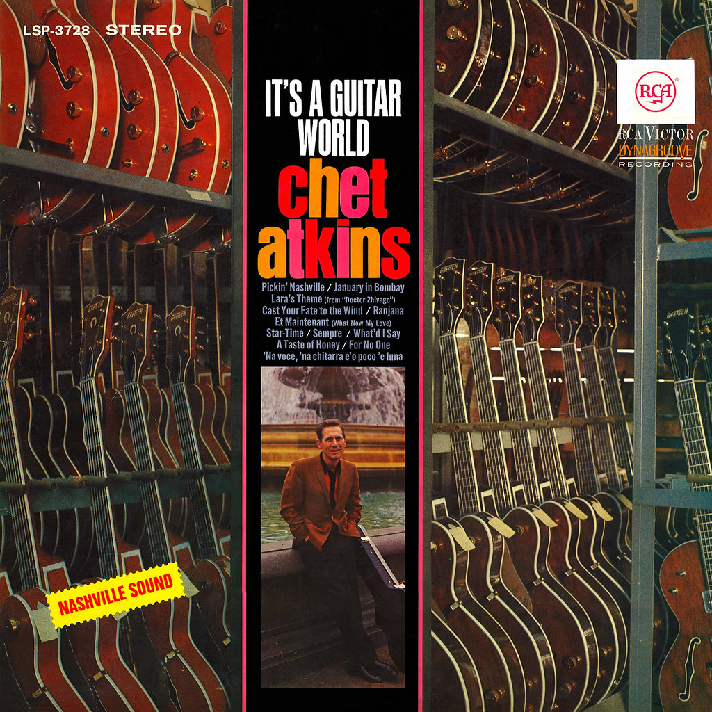 Chet Atkins - It's a Guitar World