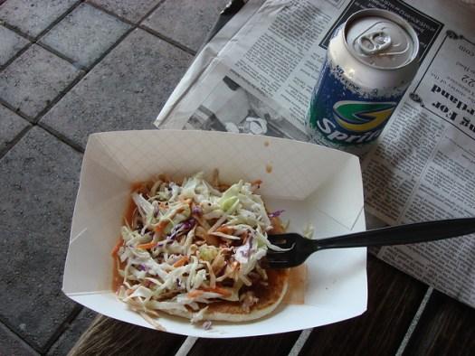 Redneck Taco, Franklin Food & Spirits Festival, Franklin Tennessee