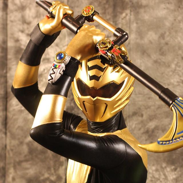 SabotenCon Saturday Portraits  Gold Ranger from Power
