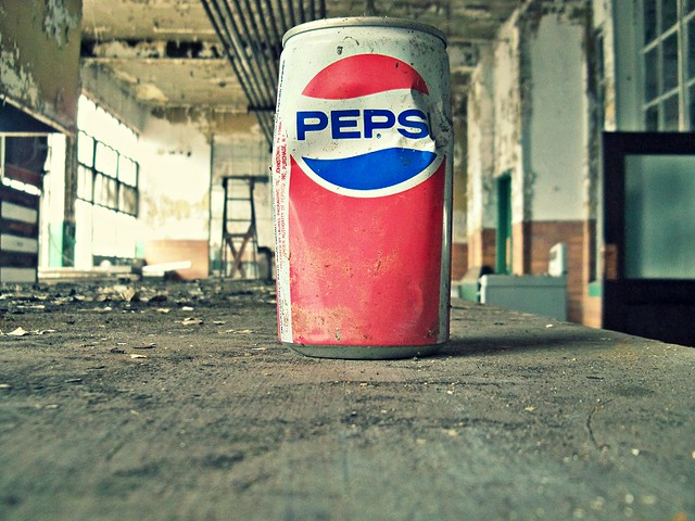 Abandoned Pennsylvania: The Industrial-Age Archaeologists uncover a consumer artifact of mass production at Scranton Lace....or is it just some really old litter?! ;-)