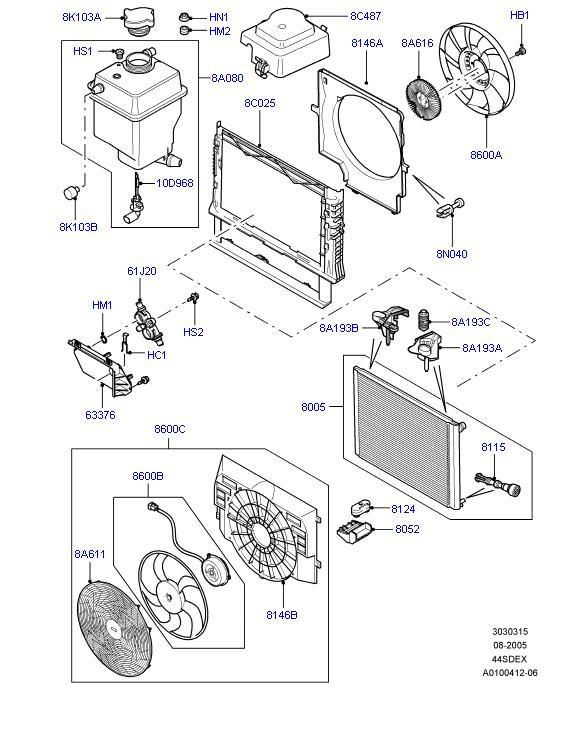 range rover p38 engine diagram