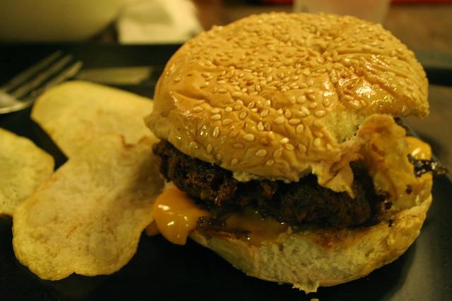Swamp Burger at Mogwai