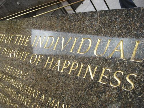 Rockefeller Centre - Pursuit of Happiness