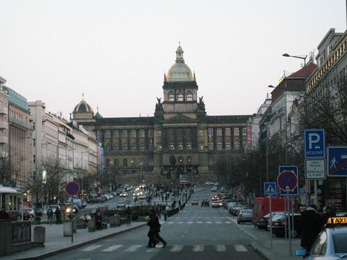 Národní muzeum, Václavské náměstí