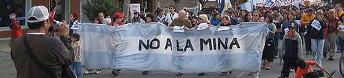 """Argentina- """"No a la mina""""!"""