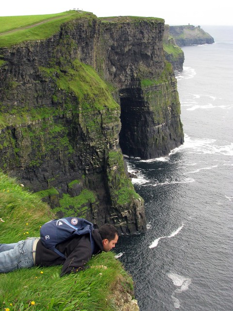 looking over dangerous cliff edge  Flickr  Photo Sharing