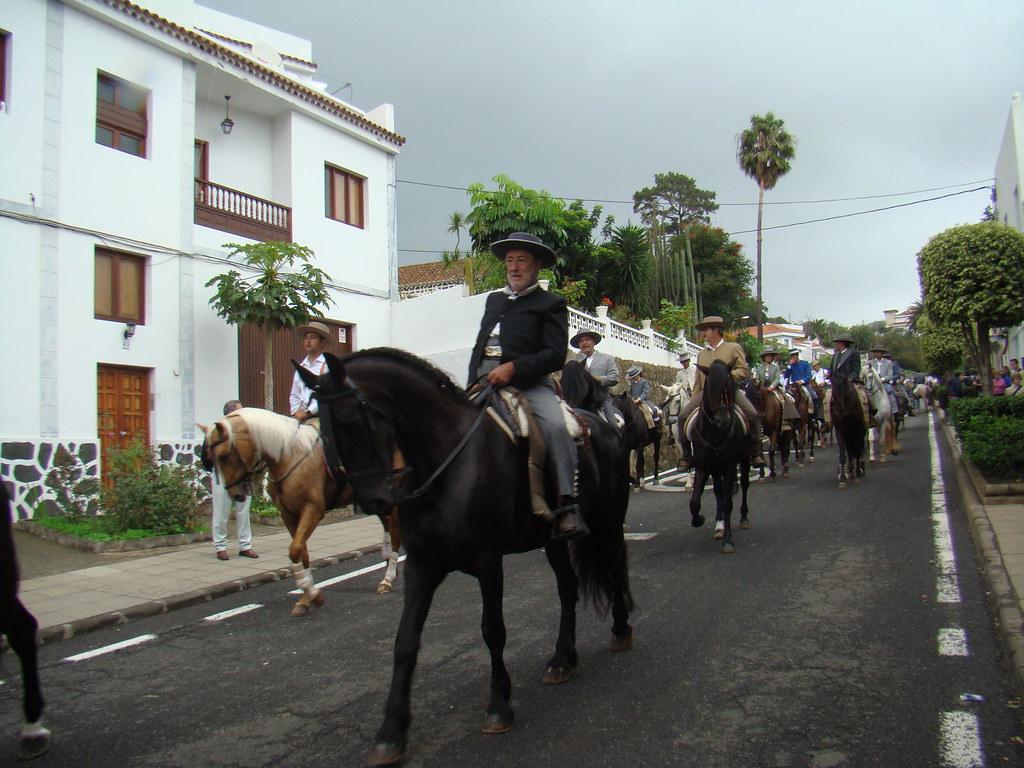 Romeros a caballo Rocio Chico Gran Canaria 04
