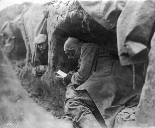 Eerste Wereldoorlog, loopgraven