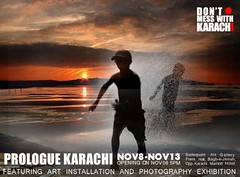 Prologue Karachi Exhibition by ~FurSid
