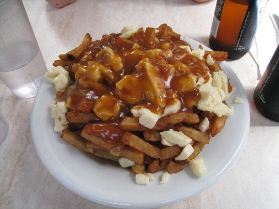 summer travel plans, Canadian poutine