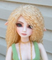 yarn wig tutorial bjd
