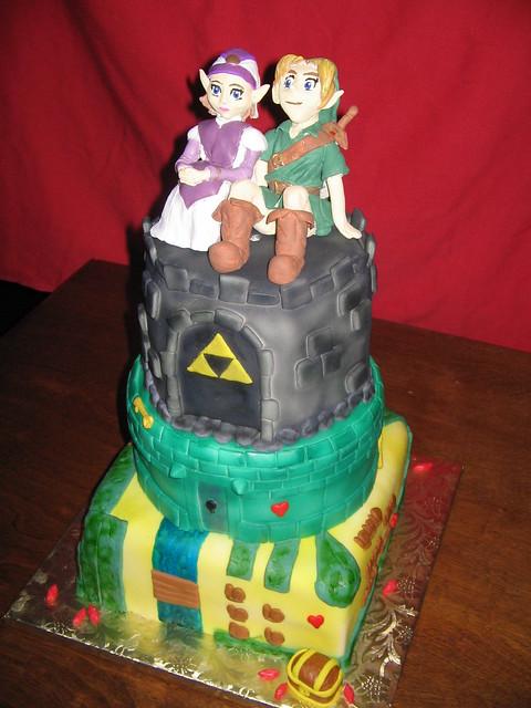 Zelda Wedding Cake The Original Legend Of Zelda Inspired