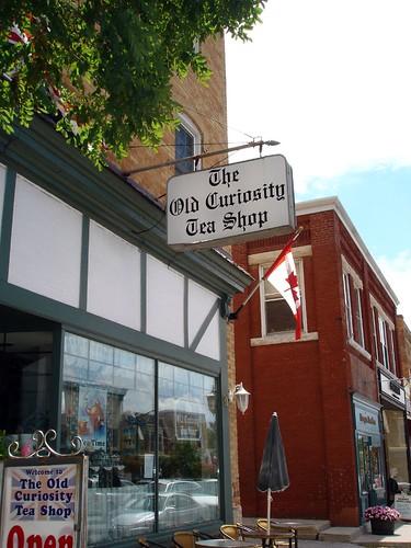 the old curiosity tea shop