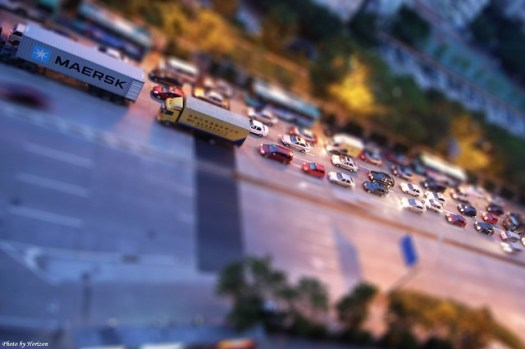 fake Tilt-shift photography No.8