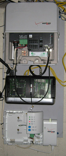 Wiring Diagram For Network Cat5 Verizon Fios Black Box This Is The Box In My Basement A