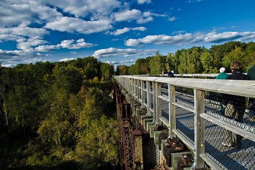 Wadhams to Avoca Trail Trestle Bridge  Flickr  Photo Sharing