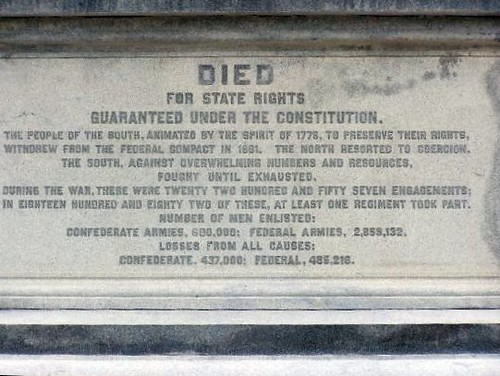 Inscription on Texas Confederate Monument  Flickr  Photo Sharing
