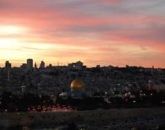 Jerusalem - Sunset