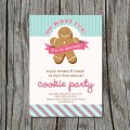 Holiday cookie decorating party invitation flickr photo sharing