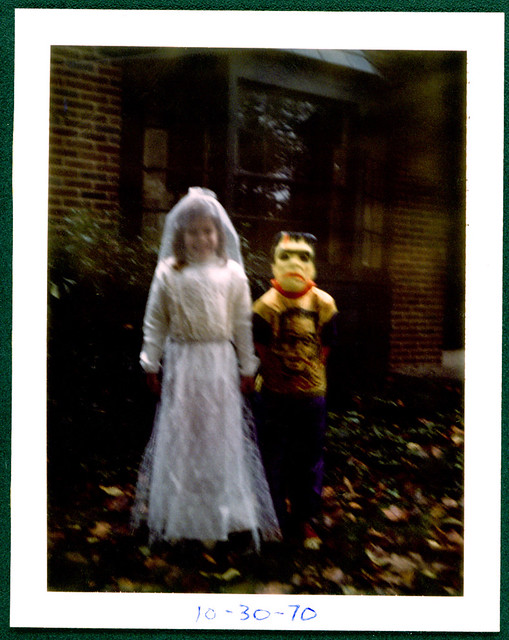 Halloween Frankenstein Costumes Monster & Bride 1970
