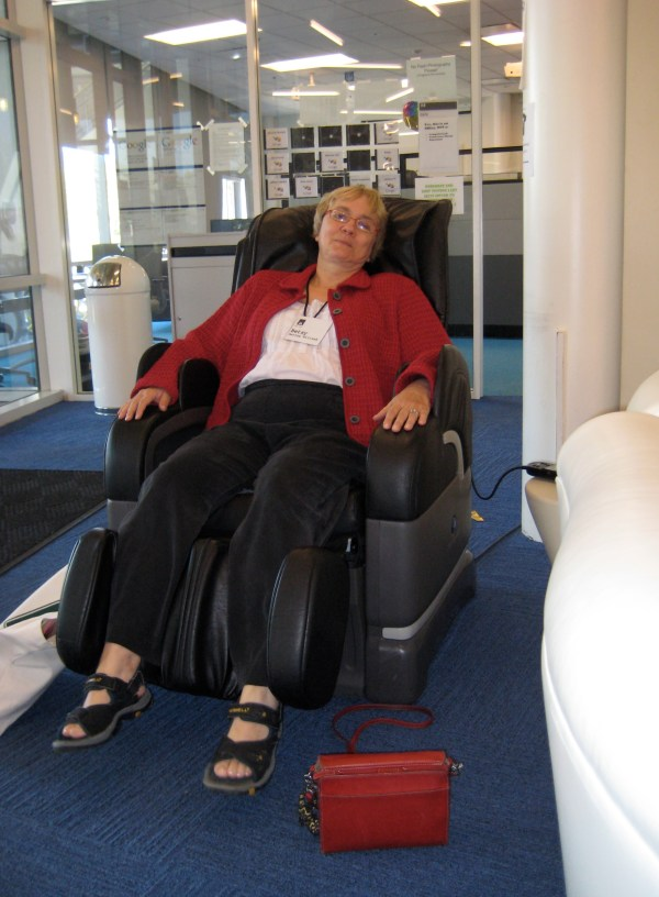 Google Massage Chair - Sharing