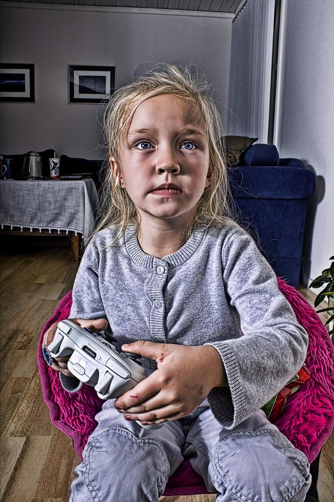 Videogame girl