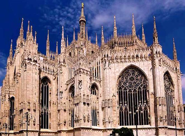 Catedral de Milán (Duomo di Milano) Milán,Italia