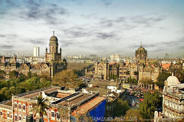 Chhatrapati Shivaji Terminus (The Victoria Terminus) & Brihanmumbai Municipal Corporation, Mumbai - India
