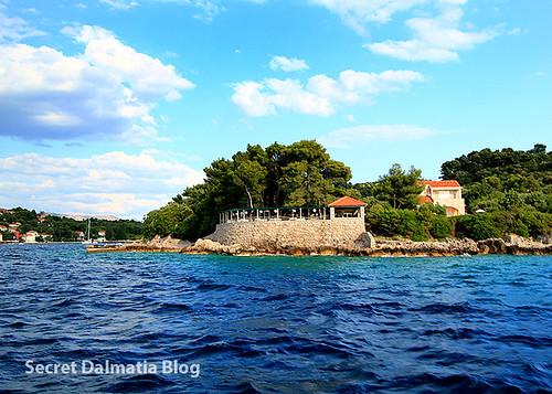Villa Ruža - from the sea