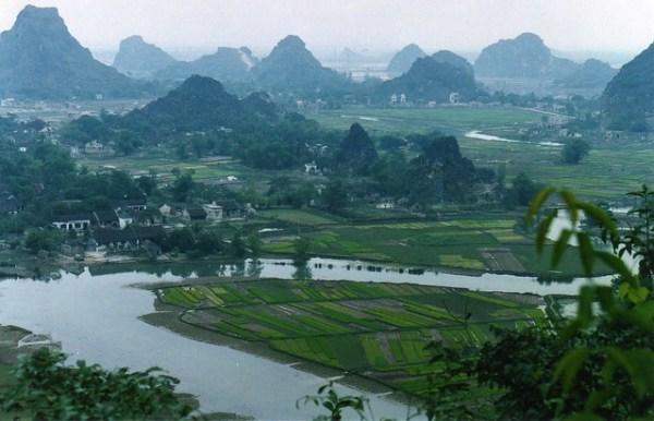 vietnam landscape hoa lu