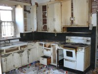 Downstairs Vintage Kitchen | Here, is a picture, of the ...