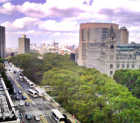 Brooklyn view -- Eastern District of New York federal courthouse