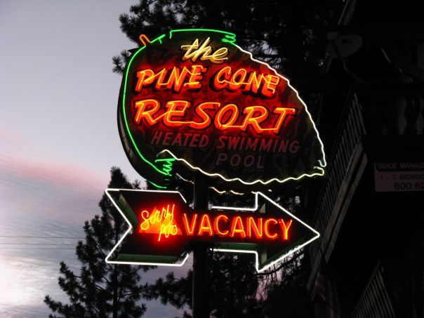 Pine Cone Resort - 601 U.S. 50, Zephyr Cove, Nevada U.S.A. - August 6, 2008