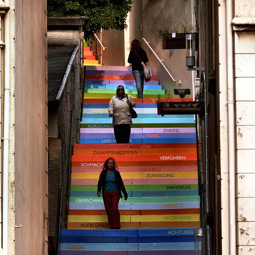 rainbow figures