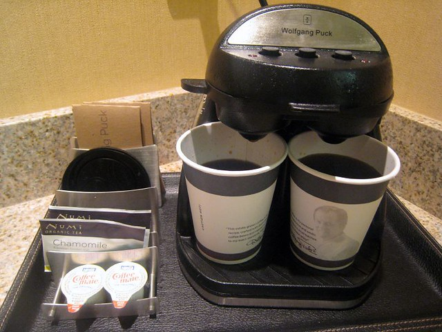 wolfgang puck coffee maker  I didnt realize Wolfgang