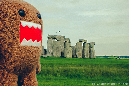 domokun at stonehenge